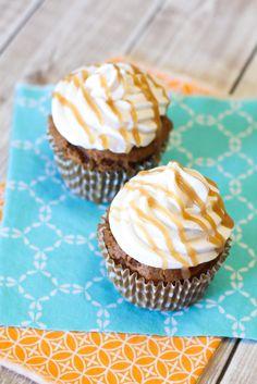 gluten free vegan pumpkin spice latte cupcakes - via @sarahbakes for the @sodelicious recipe contest!