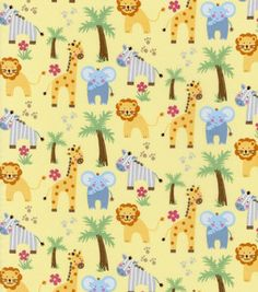 Nursery Fabric- Savanna Safari : nursery fabric : fabric :  Shop | Joann.com