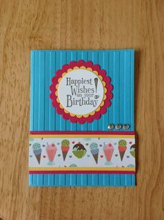 Kids birthday Stampin