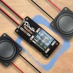 Bring an old radio or set of speakers into the century with Pirate Audio Stereo Amp for Raspberry Pi! Get punchy digital audio through the push-fit terminals and control your music with the built-in colour LCD and playback control buttons. Transformers, Arcade, Floor Standing Speakers, Unicorn Hat, Carte Sd, Keep An Eye On, Digital Audio, Stereo Speakers, Your Music