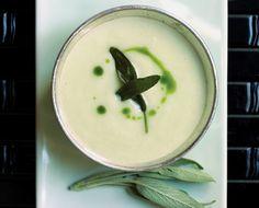 NYT Cooking: Jerusalem Artichoke Soup With Crispy Sage Leaves