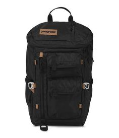 JanSport Watchtower Backpack - Black Ballistic Nylon