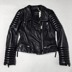 All Saints Steine Leather Biker Jacket This item has SOLD. All Saints Jackets & Coats Utility Jackets