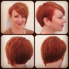 This beautiful cut & color done by on my my co workers, Corinn, at ETCH Salon in Arizona