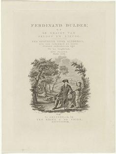 Willem van Senus | Zittende reiziger en een jongen in een landschap, Willem van Senus, Ten Brink & De Vries, 1838 |