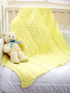 1000 Images About Knitting Baby Afghan On Pinterest