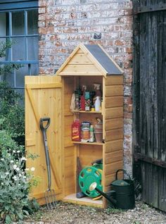 Crocus Slimline Wooden Tool Shed by Crocus, http://www.amazon.co.uk/dp/B00064ARQ2/ref=cm_sw_r_pi_dp_JeKDtb1FABQGN