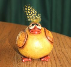 Gourd Chick perfect for Easter via Etsy