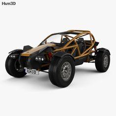 model of Ariel Nomad 2015 Ariel Cars, Go Kart Chassis, Ariel Nomad, Car 3d Model, Car Engine, 3 D, Modelos 3d, Construction, Models