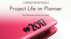 Blick ins Album: Mels Planner Project Life Januar bis April | Mel für www.danipeuss.de Scrapbooking |Simple Stories Carpe Diem Planner