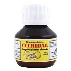Citridaldråber- bl.a. forebyggende mod parasitter (2x årligt som kur)