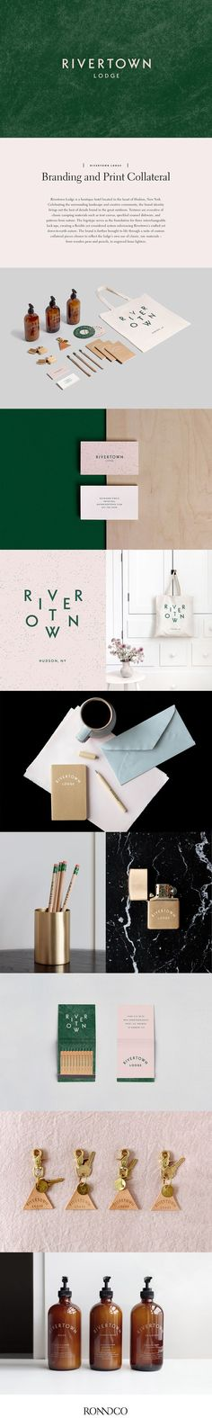Behance : Editing Rivertown Lodge