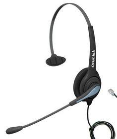 RJ9 (RJ22) Call center headset for Avaya, Grandstream, Snom Phones by Ovislink. $56.95. OvisLink Monaural call center headset services you with all-day comfort and superior sound quality. Is it designed for call center, telemarketing and office environment. With its lightweight over-the-head single leatherette earpiece design, you may wear it all day and feel comfortable. Its noise-canceling microphone reduces surrounding background noise while giving you crystal clear phone...