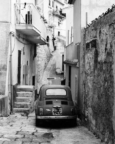 Old Fiat 500 in Monterosso Almo, Sicily (shot on film by me, 1999) from : http://pin.it/xU42W0l #sicilia #travelsource #catania #sicily #sicilytour #sicilianholiday #travelinsicily #sicilybaroque #igsicily #visiting #vacation #discoverearth #igsicily #igtravel #igerscatania #igerscatania #baroque #travelblogger #travelling #holidaysicily  #palermo #tourofsicily #tourguide #organizetrips #travelling #trip #winetour #outofthebittentruck #traveltruck