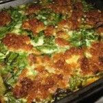 Serbian potato moussaka with bacon and spinach - Konsument Sam - macedonian food Spinach Recipes, Potato Recipes, Meat Recipes, Cooking Recipes, Cooking Time, Chicken Recipes, Moussaka Recipe Potato, Serbia Recipe, Spinach Health Benefits