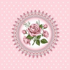 Vintage Flowers Vectores en stock y Arte vectorial Decoupage Vintage, Vintage Diy, Decoupage Paper, Beautiful Flowers Pictures, Printable Pictures, Background Vintage, Rose Background, Diy Arts And Crafts, Scrapbook Paper Crafts
