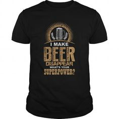 I Make BEER Disappear T-Shirts, Hoodies, Sweatshirts, Tee Shirts (19$ ==► Shopping Now!)