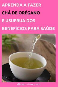 Benefícios do Orégano - Como preparar Chá de Orégano Tea Time, Natural Remedies, Food And Drink, Pudding, Healing, Tableware, Ethnic Recipes, Desserts, Fitness