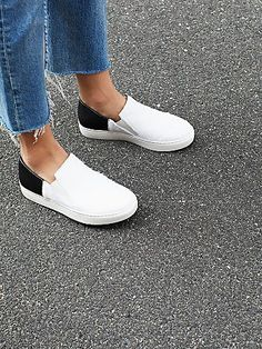 Varsity Slip On Sneaker by FP Collection at Free People