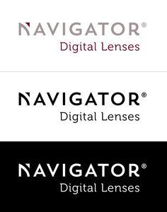 Navigator Digital Lenses  Logo Design
