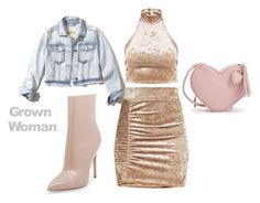 """""""Grown Woman"""" by kashbley on Polyvore featuring Hollister Co. and Steve Madden"""