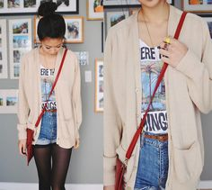 Where the wild things are! (by Alyssa Lau) http://lookbook.nu/look/2747829-where-the-wild-things-are