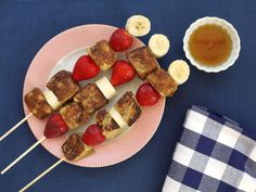 French Toast on a Stick on Weelicious