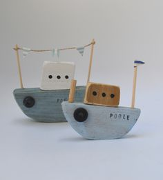 Tug boats by Upcycle art creations