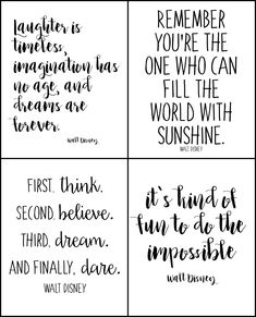 These quotes are full of inspiration. Disney printables for kids or office. These quotes are full of inspiration. Disney printables for kids or office. Love Mom Quotes, Niece Quotes, Daughter Love Quotes, Son Quotes, Quotes For Signs, Good Quotes For Kids, Frases Disney, Walt Disney Quotes, Disney Family Quotes