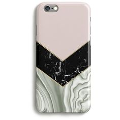 Harper & Blake Agate Marble Chevron Cream Pink Phone Case ($27) ❤ liked on Polyvore featuring accessories, tech accessories, phone, phone cases, cases, fillers and multicolour