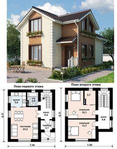Sims House Plans, Dream House Plans, Modern House Plans, House Floor Plans, Small Floor Plans, Home Design Floor Plans, Small House Plans, Casas The Sims 4, Villa