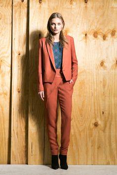target orange pantsuit women - Google Search