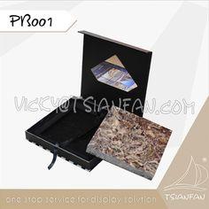 PB005--Custom Marble Stone Tile Sample Box/Quartz Stone Display Box Marble Stones, Stone Tiles, Sample Box, Quartz Stone, Display Boxes, Floors Of Stone