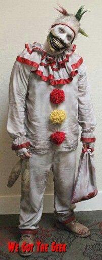 Twisty the clown by Rusty Sinner FX Horror Stories, Ronald Mcdonald, Joker, Fictional Characters, The Joker, Fantasy Characters, Jokers, Comedians