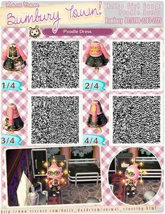 ANIMAL CROSSING QR CODE. ACNL. Pinned By Stephy Sama