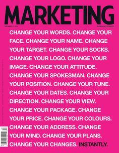marketing manifesto