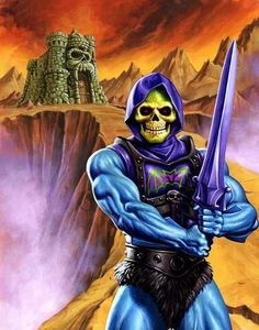 MASTERS of the UNIVERSE Battle Armor Skeletor
