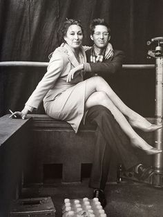 angelica huston and wes anderson