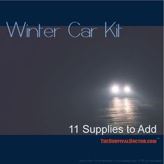 Readers Respond: 11 More Winter Supplies to Keep in Your Car. What's in your car?