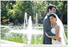 Gorgeous wedding photo at Decatur House in Washington DC. Inspired Photography by Susie & Becky.