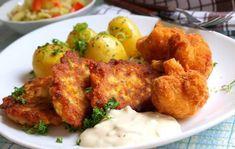 Smažený květák a květákové placičky | NejRecept.cz Tandoori Chicken, Treats, Ethnic Recipes, Sweet Like Candy, Sweets