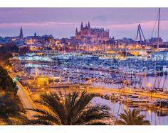 Puzzle Schmidt  El Puerto de Palma de Mallorca de 1000 Piezas
