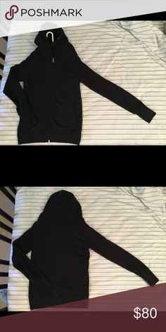 """Lui's Black Hoodie Size: Medium 