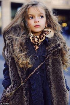 just a stunning little girl.