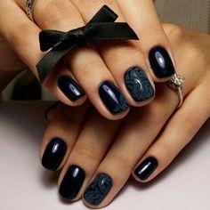 #nails #black #nailart