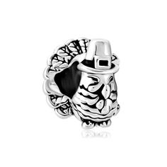 Safety Chain Rubber Stopper 925 Sterling Silver Charms for Snake Chain Bracelets By Sandcastle Charm