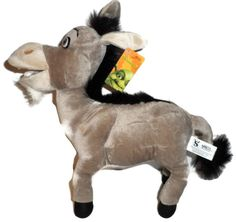 12 INCH DONKEY PLUSH DOLL TOY SHREK. 12 INCHES FROM TIP IF NOSE TO HIND LEG. OFFICIAL AND LICENSED DREAMWORKS MERCHANDISE. HIGH QUALITY PLUSH. SATISFACTION GUARANTEED!.