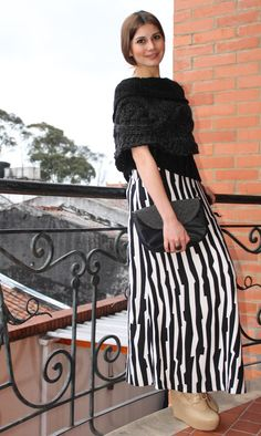 Maxi Skirt !! Striped Pants, Seasons, Skirts, Photos, Fashion, Stripped Pants, Pictures, Moda, La Mode