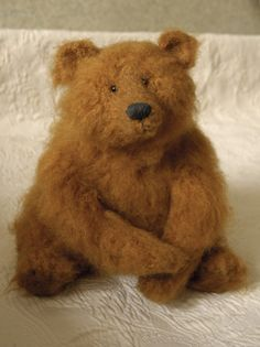bear  - reverse needles????? suggestions please