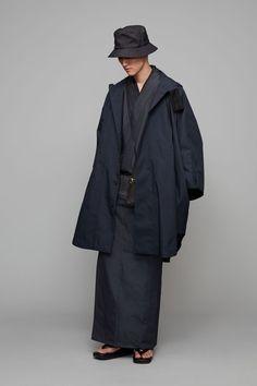 Norwegian Rain / Raincho / Mixed deep navy Male Kimono, Kimono Jacket, Norwegian Rain, Sons, Raincoat, Normcore, Mens Fashion, Navy, Studio
